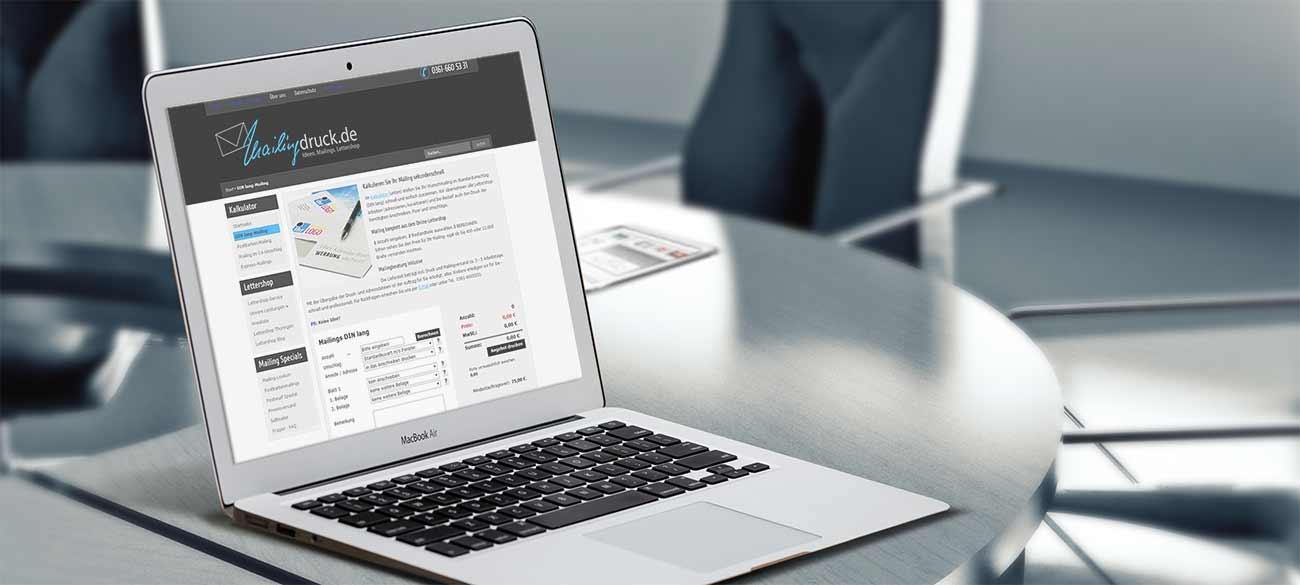 Preise für das Kuvertieren erfahren Sie blitzschnell im Mailingkalkulator